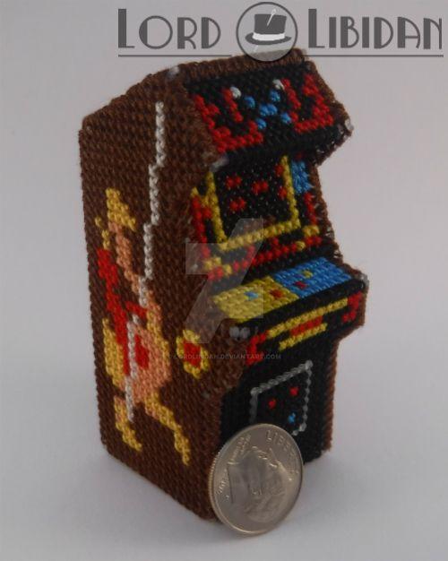 joust arcade cabinet