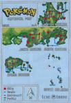 Pokemon National Map