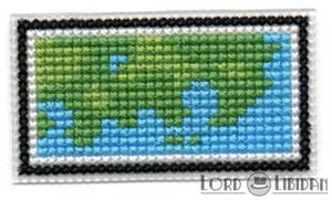 Pokemon Mini Map Cross Stitch