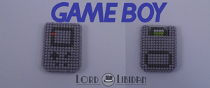 Gameboy Cross Stitch by Lord Libidan