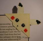 Pikachu Pokemon Bookmark Cross Stitch by Lord Libi