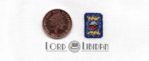 Miniature Pokemon Card Cross Stitch