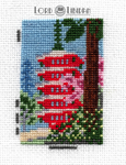 Spring In Daigoji Temple Miniature Cross Stitch by LordLibidan