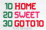 Futurama Home Sweet Home Cross Stitch by LordLibidan