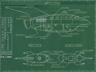 Futurama Old Bessie Blueprint By Lord Libidan