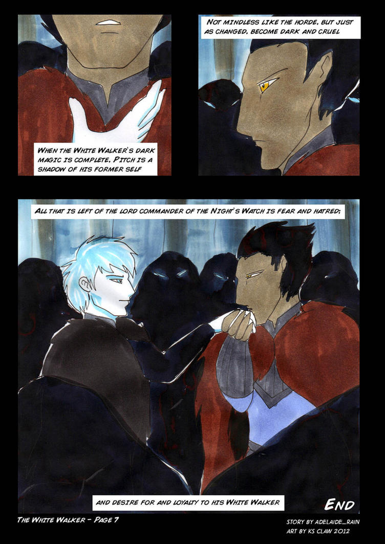 The White Walker - page 7 by ks-claw