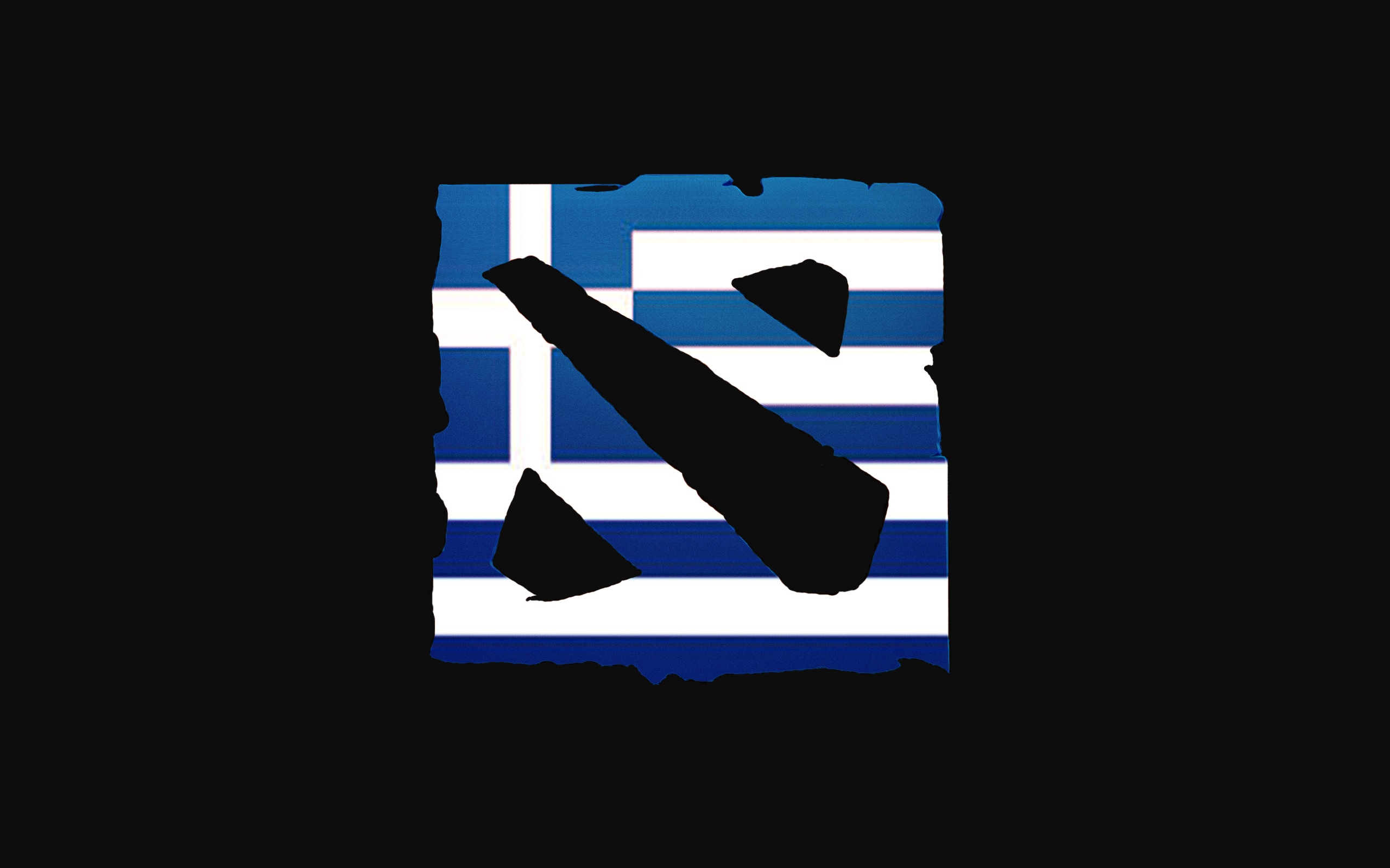 Dota 2 Logo Greece By MacedonianGamer98