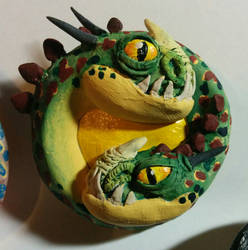 HTTYD: Barf and Belch Medallion