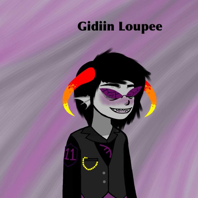 Gidiin Loupee by ZombieHighSchoolKid
