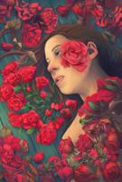 Speaking of Roses by Birgitte-Gustavsen