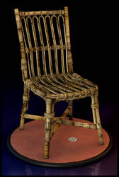 Straw Chair by EderCarfagnini