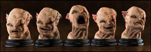 Gothmog Bust: Expressions