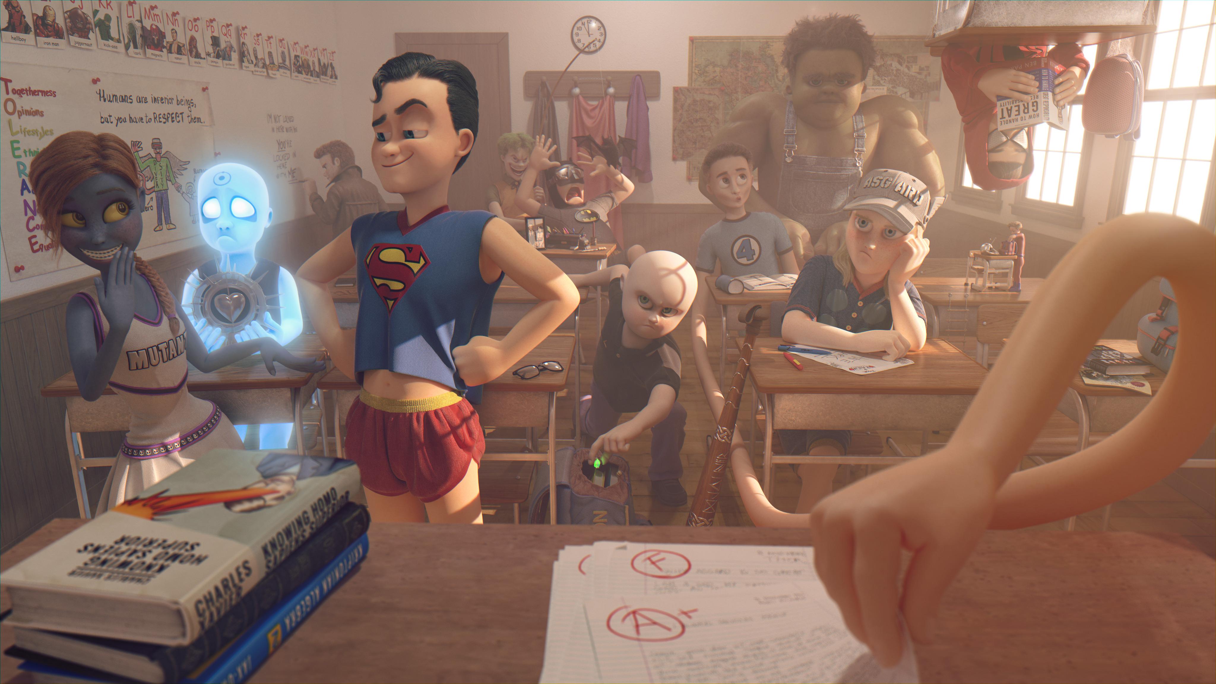 An Ordinary School Day by EderCarfagnini