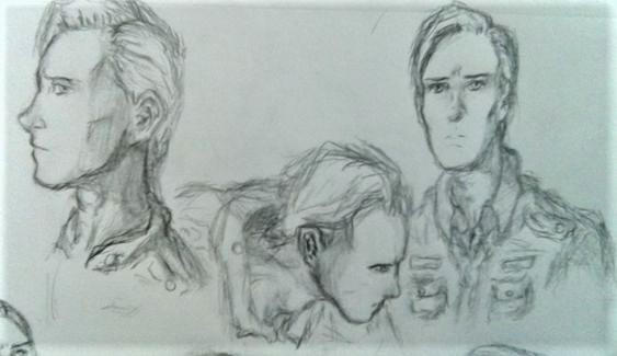 Sketch Dump: David 8