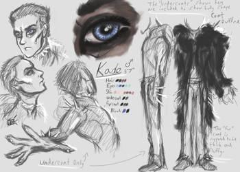 Character Reference - Kade by DatBrainChild