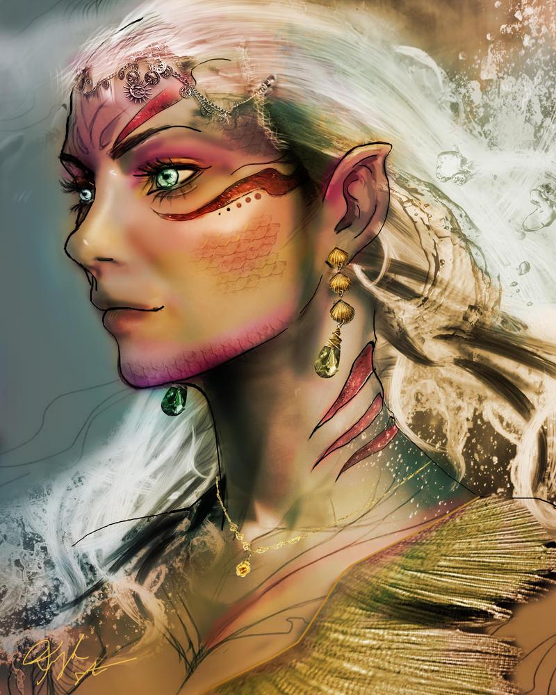 Serena Queen of the Sea Flesh version by rebel07bloodhound