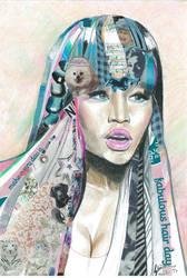 Nicki Minaj by Slavenart