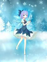 Fairy of Ice by elaphine