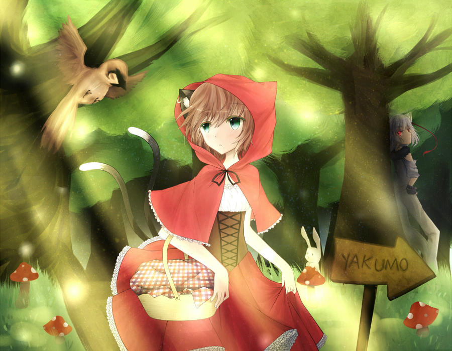 Little Red Riding Hood by KANiCHaN
