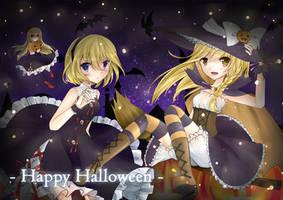 Happy Halloween~! by elaphine