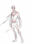 Superman Redesign Sketch