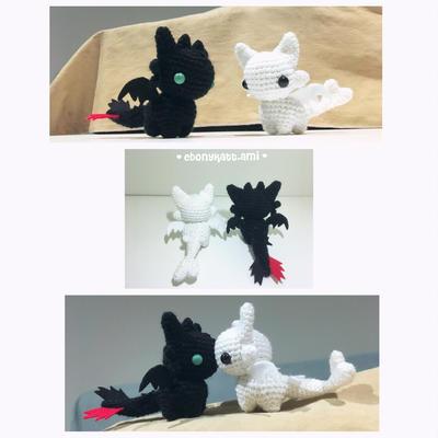 Amigurumi Toothless Free Pattern | 400x400