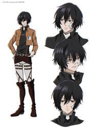 Shingeki no Kyojin OC - Kuklo.