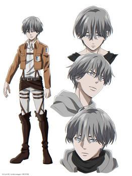 Shingeki no Kyojin OC - Louis.