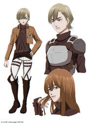 Shingeki no Kyojin OC - Kouka.