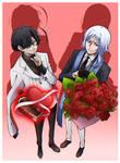 BSD [ Fanart. ] - Valentine's Date.