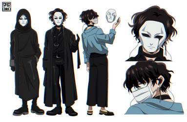 Boku no Hero Academia OC - V. by oreonggie