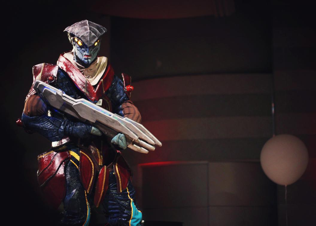 Javik - Mass Effect 3 by Giedriusonline