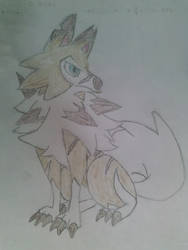 Growl the Lycanroc
