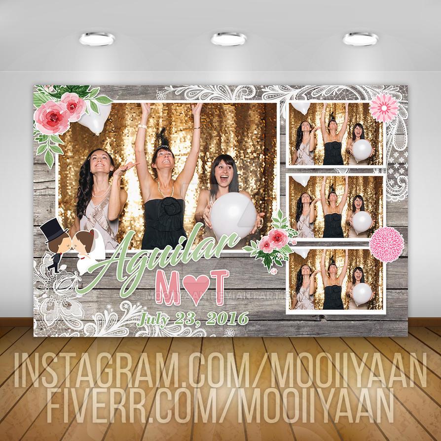 wedding photo booth template by mooiiyaan on deviantart. Black Bedroom Furniture Sets. Home Design Ideas