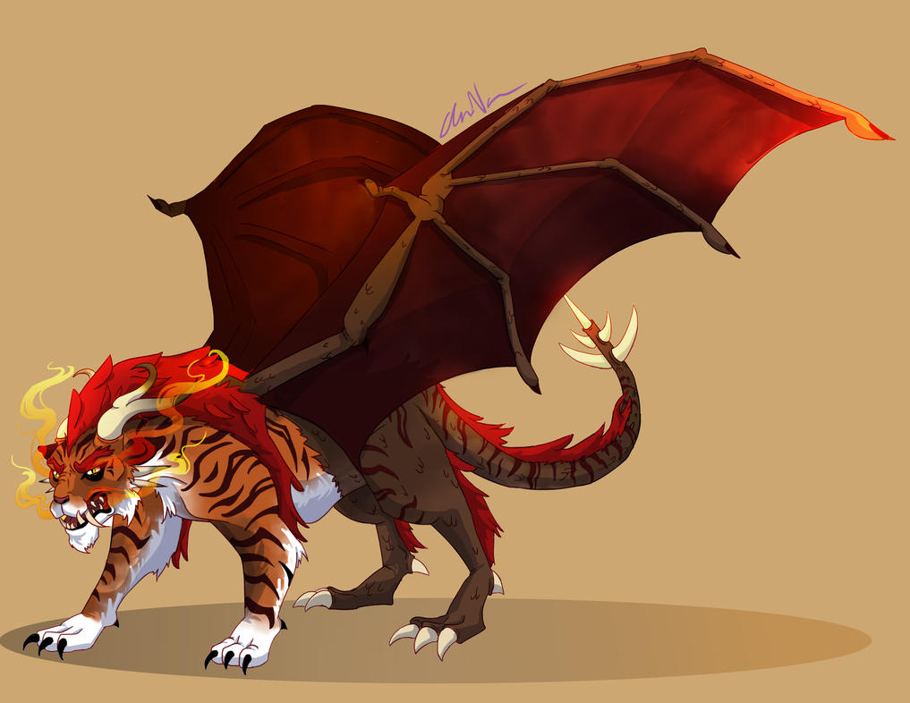 Manticore concept by EatMySocksOff