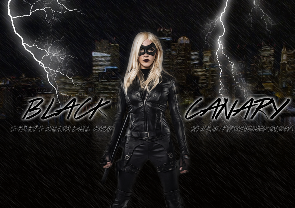 Black Canary Arrow Wallpaper By TheGreekAstral