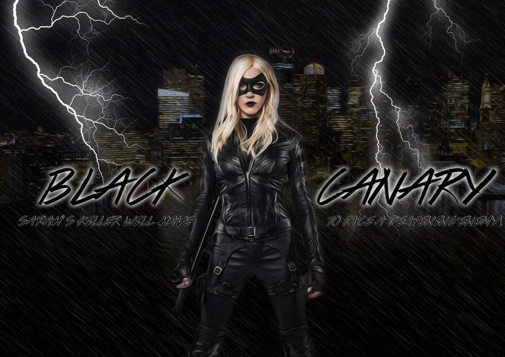 Black Canary (Arrow) Wallpaper by TheGreekAstral ...