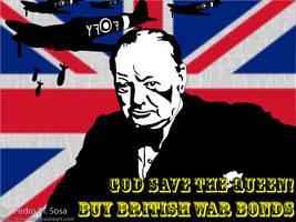 British War Bond Poster