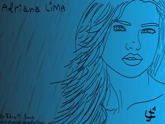 Adriana Lima by konukoii