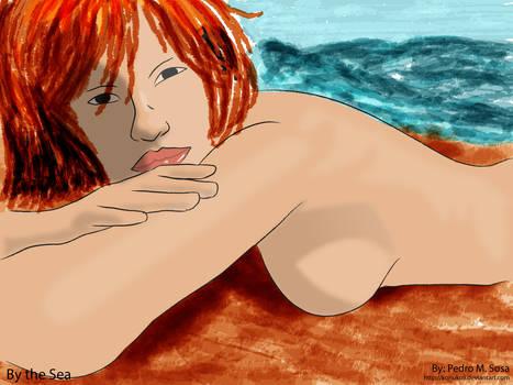 By The Beach by konukoii