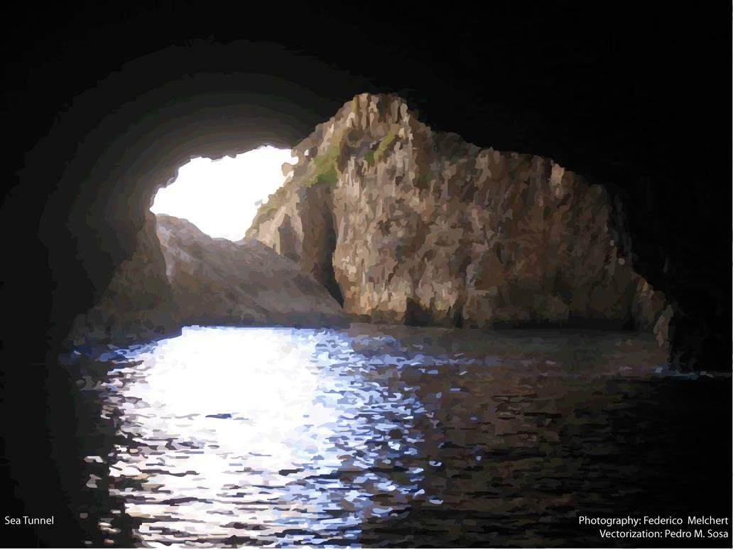 Sea Tunnel by konukoii