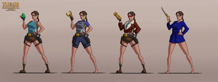 Lara Croft outfits TR2