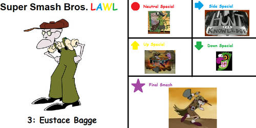Lawl Special 3: Eustace Bagge by SunnySpells11
