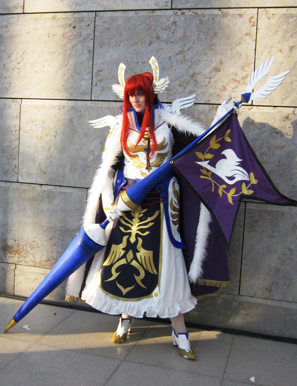 Erza Scarlet Farewell Armor by Bloodynightwish on DeviantArt