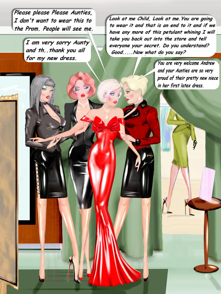 Changing Room Chastisement 2 by Andylatex