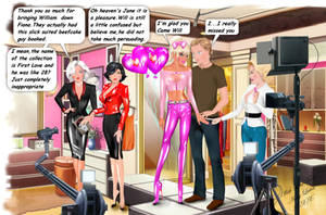 Caption feminisation Robin's TG