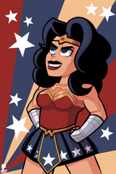 Wonder Woman. by Wazzaldorp