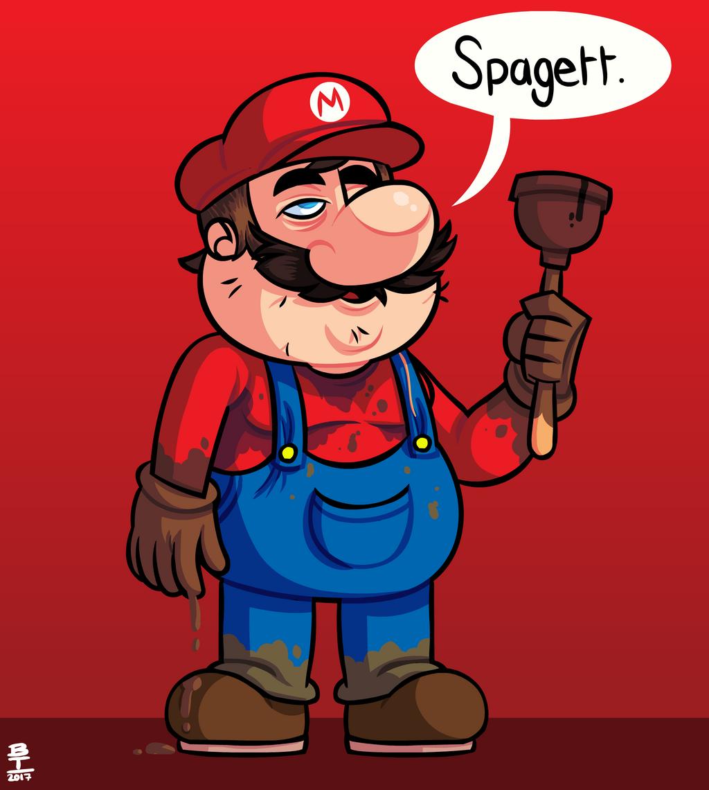Mario? by Wazzaldorp
