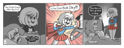 Free Comic Book Day by Wazzaldorp