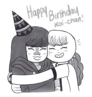 Happy Birthday Koi-chan